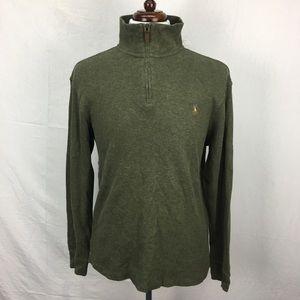 Polo Ralph Lauren Estate Rib Zip Pullover Sweater